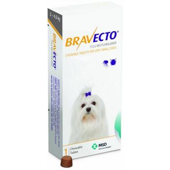 Bravecto 2-4,5 Kg