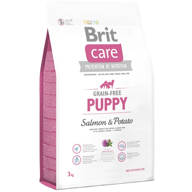 Brit Care Puppy Grain Free Salmon Potato