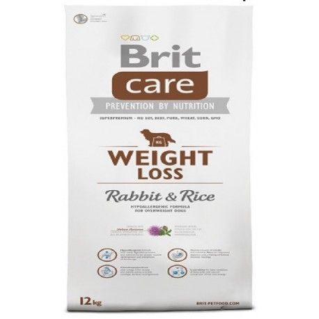 Brit Care Weight Loss Rabbit & Rice 12 Kilos