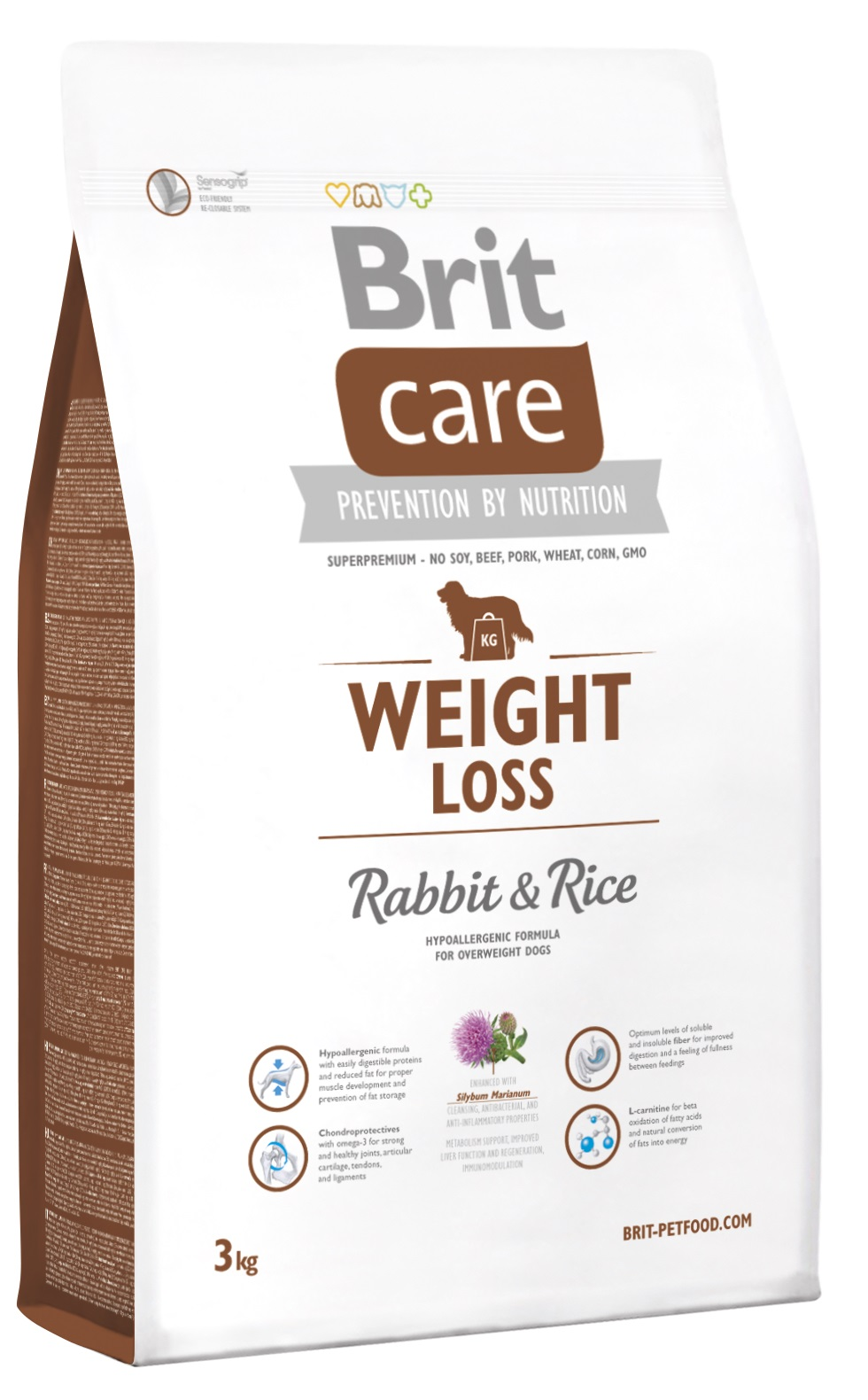 Brit Weight Loss Rabbit And Rice 3 Kg