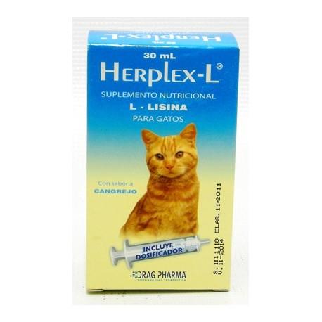 Herplex-l Oral Suplemento Nutricional 30 Ml