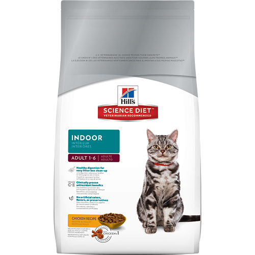 Hills Felino Adulto Indoor 1,6 Kg