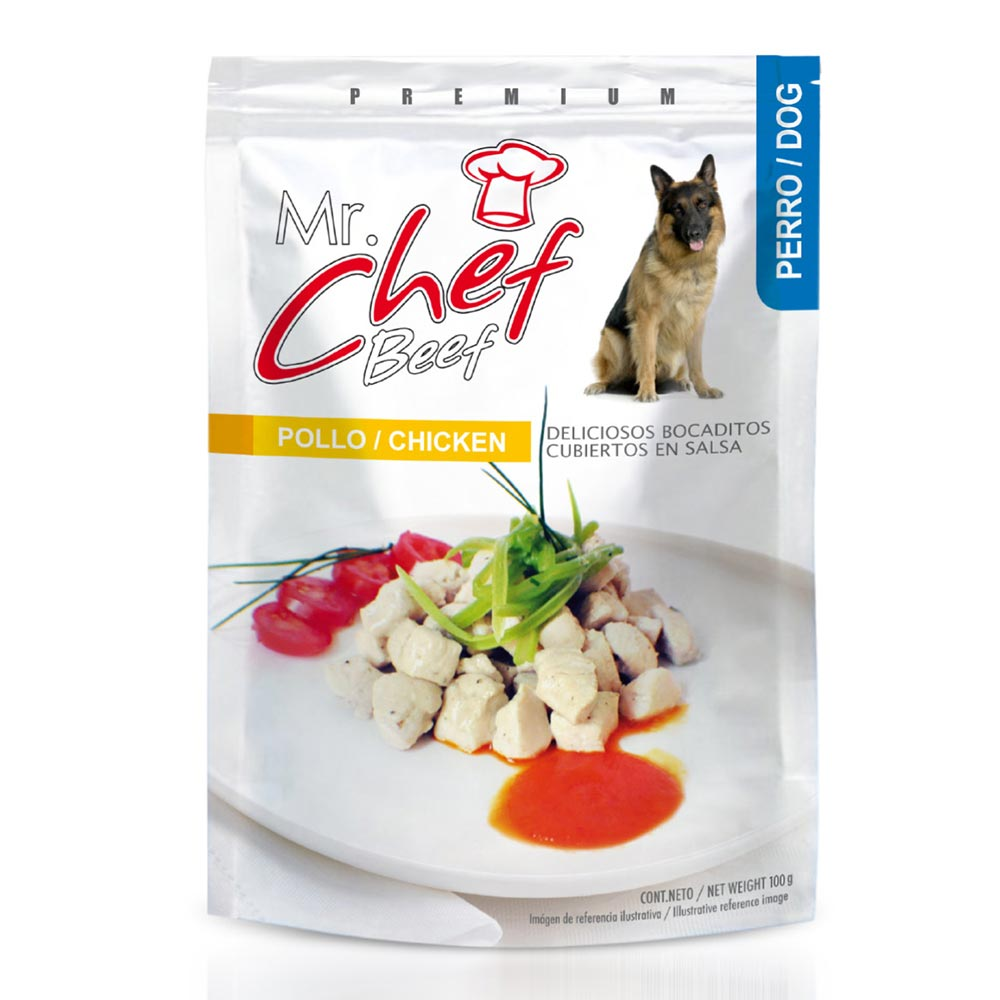 Mr Chef Salsa Carne Adulto 80 Gr.