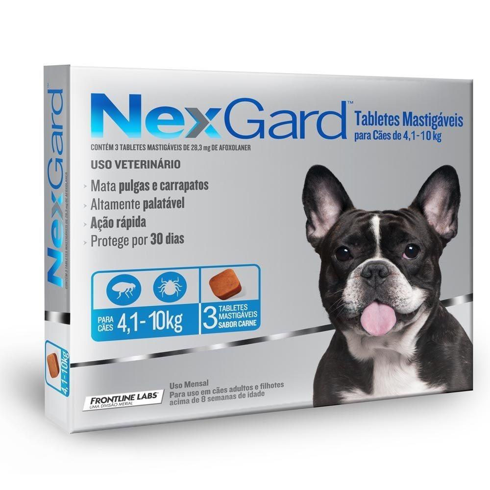 Nexgard 4 a 10 Kilos