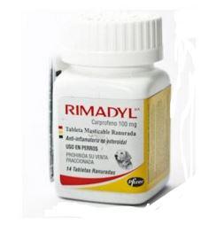 Rimadyl 100 Mg X 14 Comprimidos